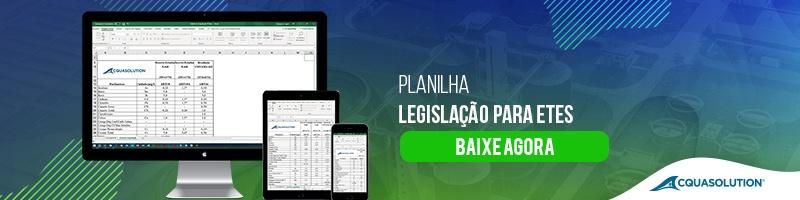 Planilha – Legislação para ETEs