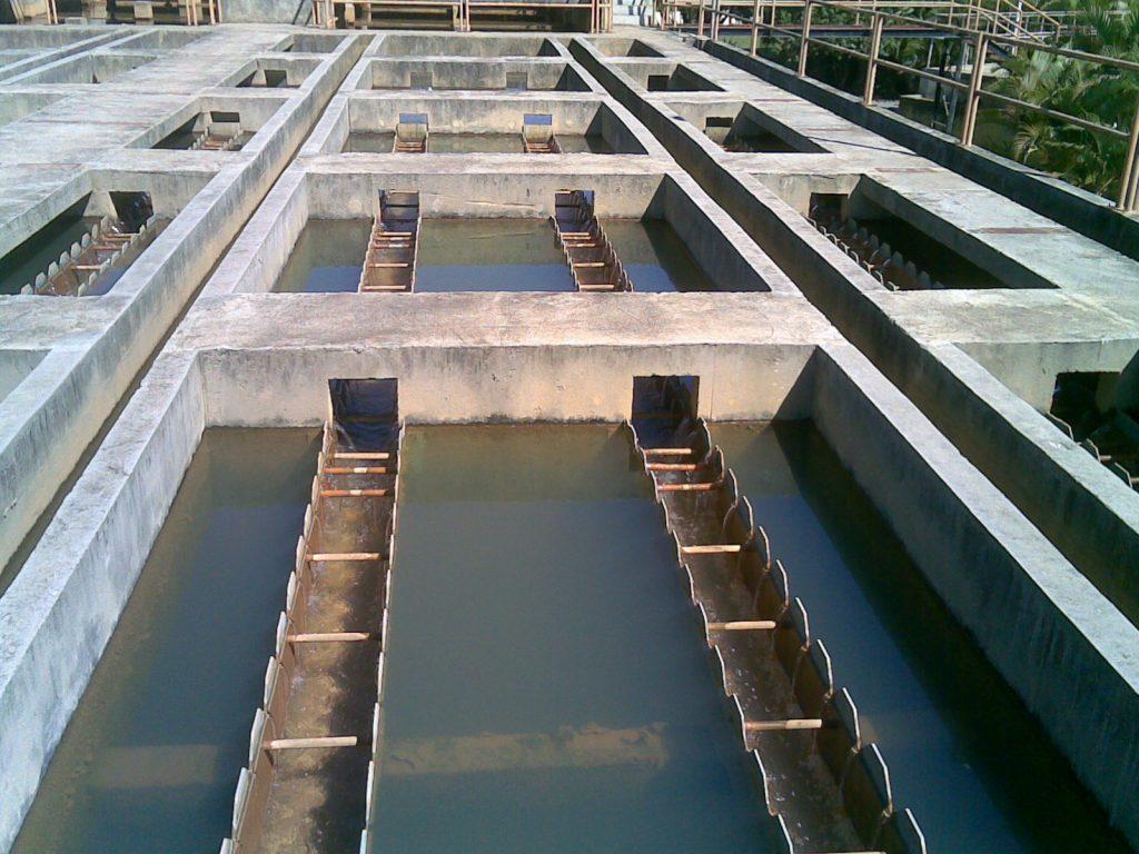 Decantação e turbidez no tratamento de água